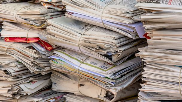 Zber papiera