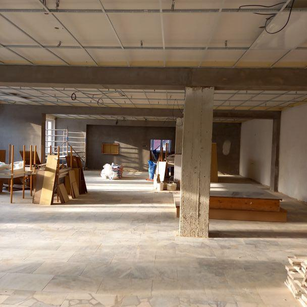 Rekonštrukcia spoločenskej sály kultúrneho domu