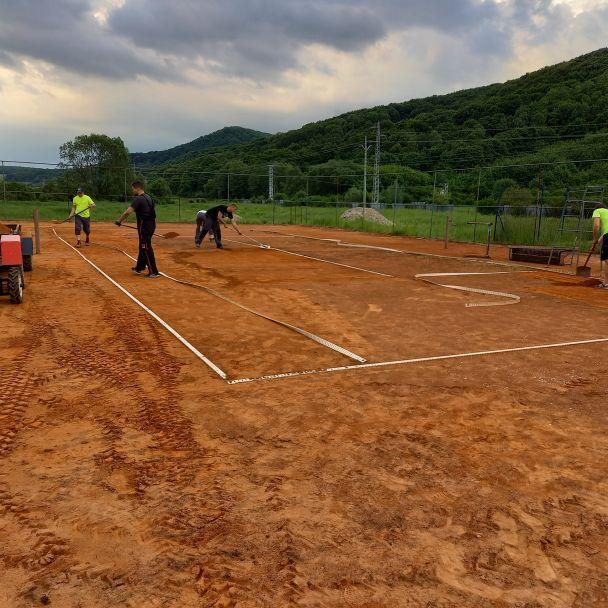 Rekonštrukcia tenisového kurtu