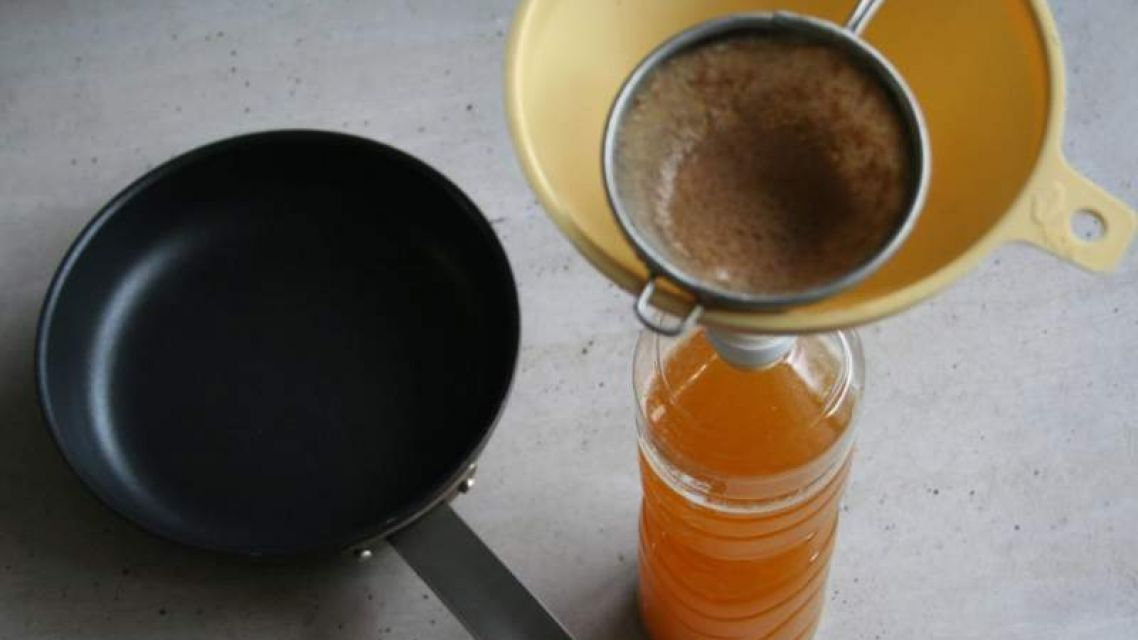 Zber jedlých olejov a tukov